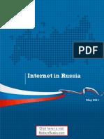 The Internet in Russia (factsheet via ModernRussia.com)