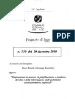 Lazio PL 130 Open Data