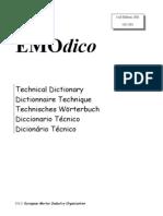 Dicionário técnico - Dicionário Inglês-Português de Termos Ferroviários