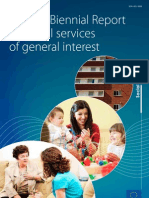 II Informe Bienal sobre Servicios Sociales de Interés General en la UE