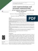 Social Construction Ism