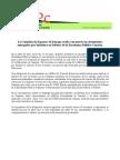 Entrega de ILP a Comisión OCDE