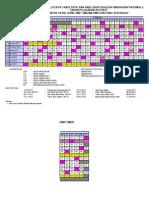 KALENDER PENDIDIKAN 2011-2012