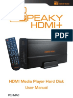 So Speaky HDMI + User Manual ENG