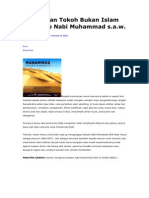 Pandangan Tokoh Bukan Islam Terhadap Nabi Muhammad s