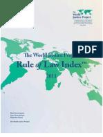 Informe WJP 2011