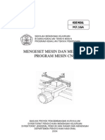 (2) Mengeset Mesin Dan Mengedit Program Mesin Cnc