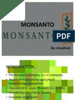 Monsanto Ppt