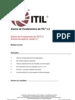 Sample Exam ITV3F Brazillian Portuguese B