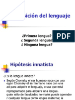 Adquisicion Del Lenguaje