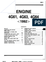 89-93 4G63 Engine Manual