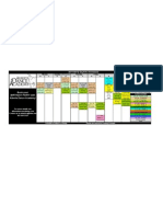 2011 2012 Daytime Schedule