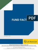 L&T Factsheet - May 2011
