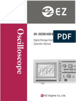 LG/Goldstar/EZ Digital OS-3020 OS-3040 OS-3060 Manual