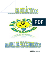 Manual de Procedimientos de Sellos Didacticos