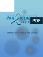 Intern Placement Guide