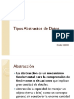 Tipos Abstractos de Datos