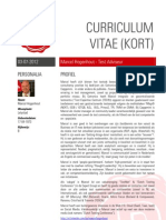 CV Marcel Hogenhout - Test Manager / -Advisor - long version