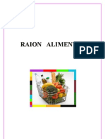 Proiect Merchandising Raion Alimentar