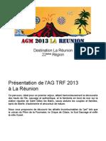 Presentation AG TRF 2013 Reunion