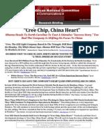 """""""Cree Chip, China Heart"""""""