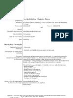 Curriculum Vitae_Elisabete Torrão
