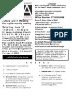 GCA June 2011 Meeting Flyer