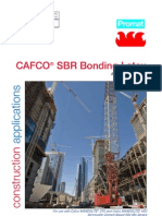 CAFCO SBR Bonding Latex Data Sheet - D019-0209