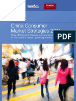 China Consumer Market Strategies 2011 Trends