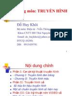 Bài giảng môn KT TRUYEN HINH