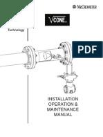 McCrometer v-Cone Instal Lo Per Ma Int Manual