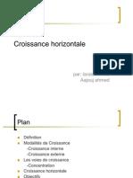 Croissance horizontale