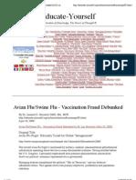 Avian Flu_Swine Flu - Vaccination Fraud Debunked by Dr Len Horowitz (May 30, 2009)