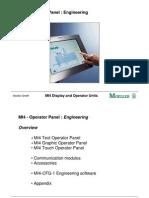 MI4 - Operator Panel