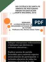 Presencia y Ser Del Otro en El Contexto Educativo