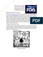 Improved Drug Research and Evaluation Practices of the FDA