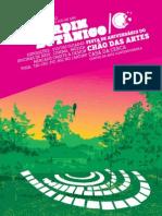 Programa da Festa Chao Da Artes