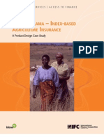 Kilimo Salama – Index-Based Agriculture Insurance