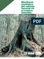 Monitoreo Ecologico Del Manejo Forestal