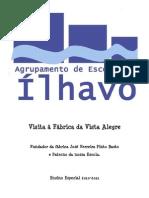 2010-11 Educação Especial em visita à Vista Alegre