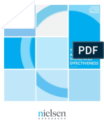 Trends in adverstising spend and effectiveness (Nielsen)