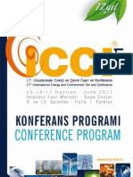 ICCI2011Prog - www.balkanerenerji.com