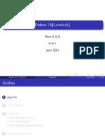 Fedora15 Overview
