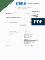 Bloomberg v. Comcast FCC complaint