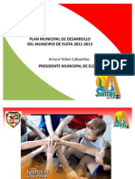 POWER POINTPrograma Plan Municipal Elota 2011-2013