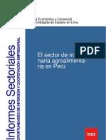 El Sector de Maquinaria Agroalimentaria en Peru