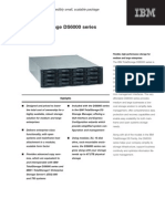 IBM Total Storage DS6000 Datasheet