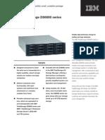 IBM Total Storage DS6000 Datasheet