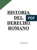 Historia de Derecho Romano