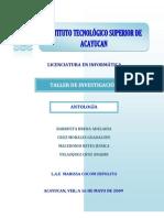 53984975 Antologia de Taller de Investigacion